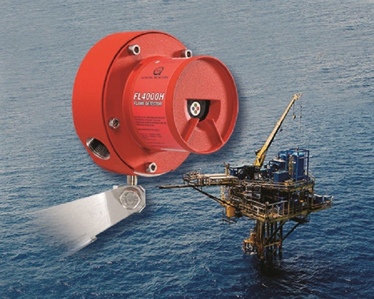 Gas and flame detectors meet offshore standards