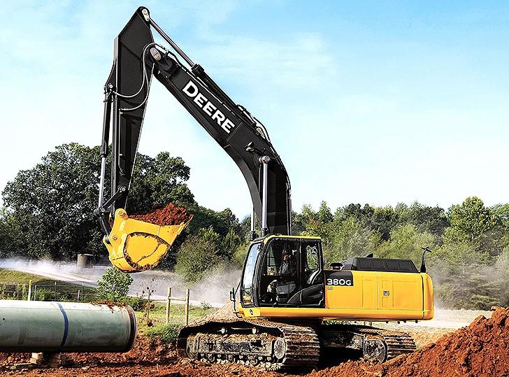 John Deere Construction & Forestry - 380G LC Excavators