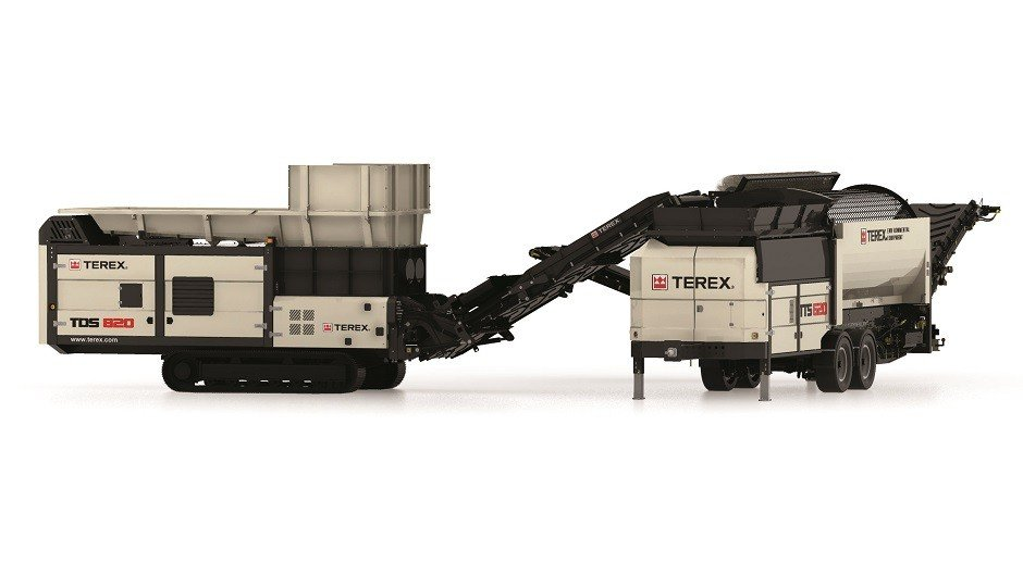 Terex Environmental Launches Slow-Speed Shredder and Mobile Trommel