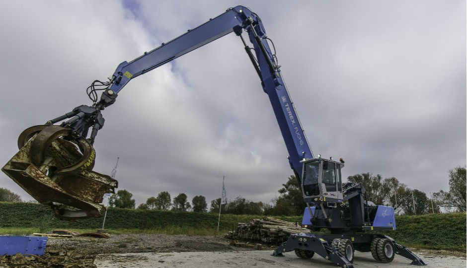 New Terex Fuchs Material Handlers Loaded With Design Advancements