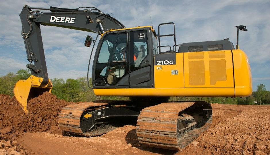 New John Deere 210G LC Excavator Features Total Fluid