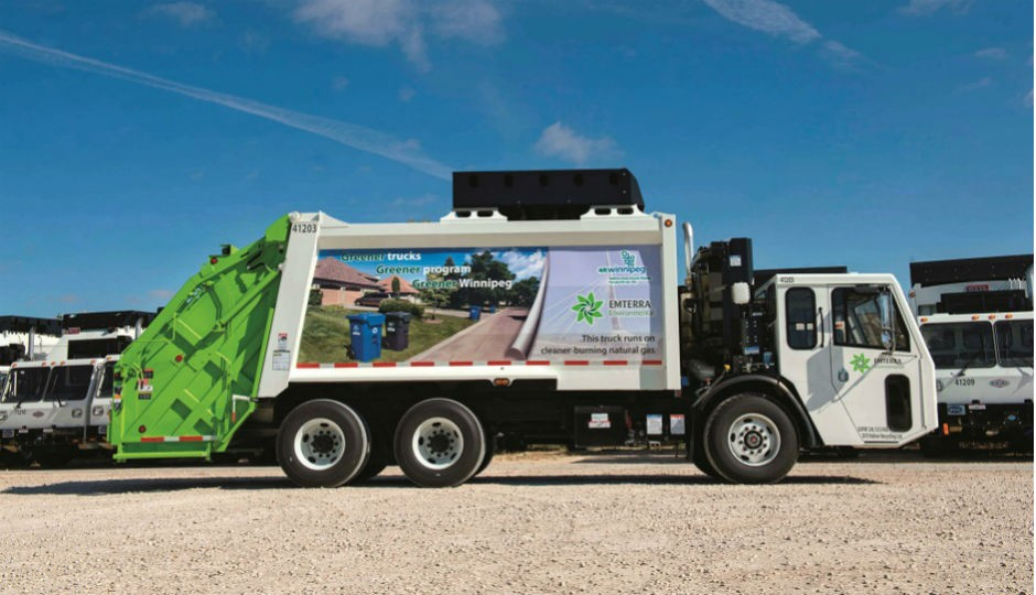 Emterra's Ontario-based fleet includes 120 CNG waste and recycling collection vehicles.