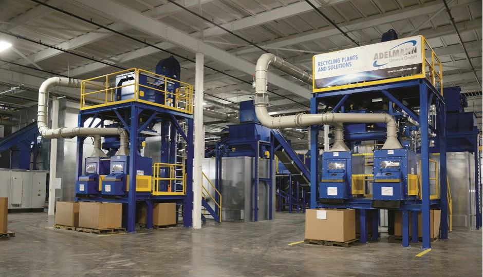 Recleim's Hickman Mill de-manufacturing facility.