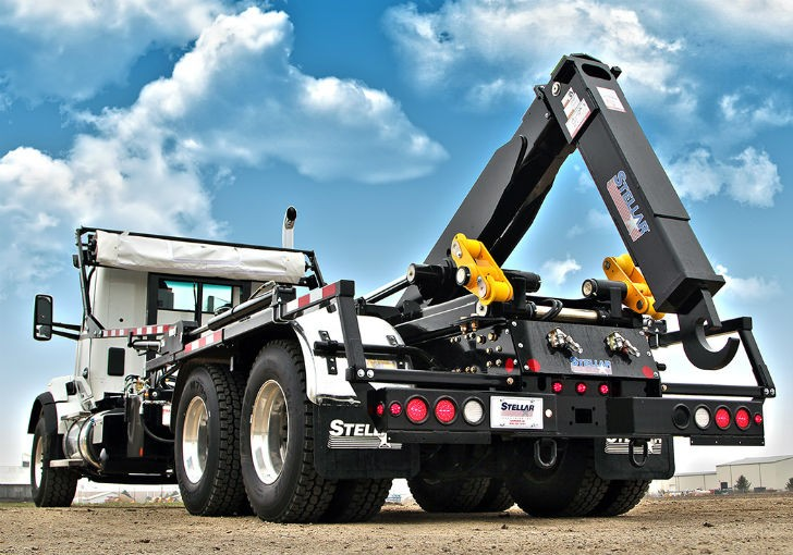 Stellar Industries Introduces the Redesigned Slider50 Hooklift