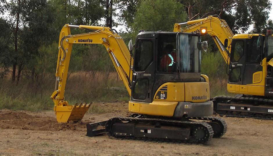 Komatsu America Corp. - PC55MR Excavators