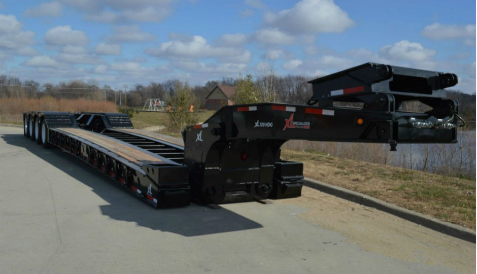 XL Specialized Trailers Introduces XL 120 Low-Profile HDG Construction Trailer