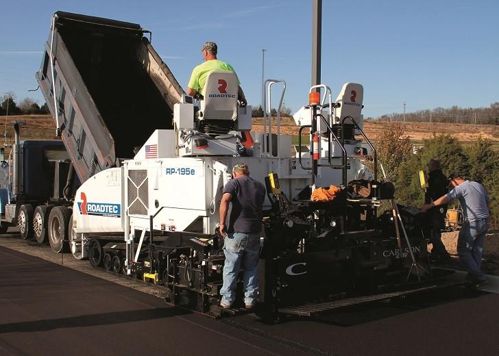 Roadtec RP-195e features anti-segregation design