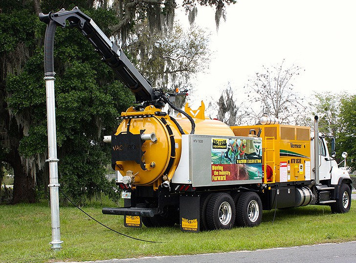 Vac-Tron Equipment LLC - HTV Series Hydro Excavators