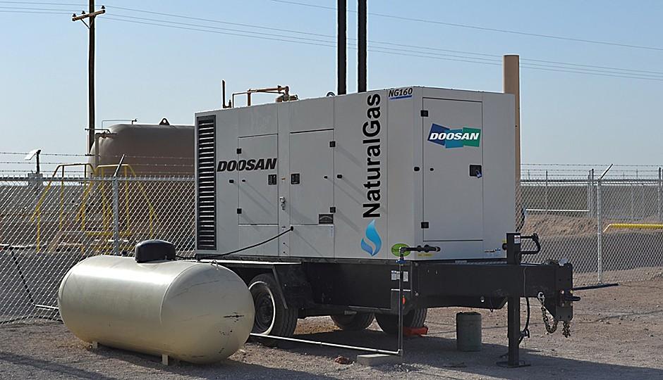 Doosan Portable Power - NG160 Generators