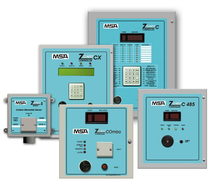 MSA's Z-Gard Series of Sensors and Controllers