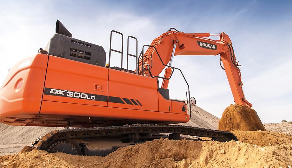 Doosan Infracore North America LLC - DX300LC-5 Excavators
