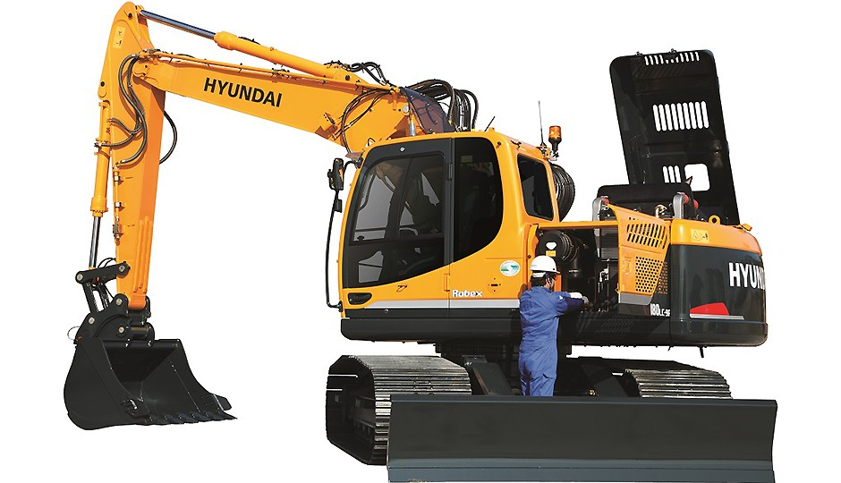Hyundai Construction Equipment Americas Inc. - R180LC-9 Excavators