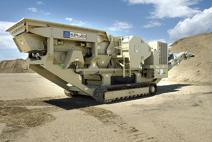 KPI-JCI and Astec Mobile Screens - FT2650 Track Mounted Jaw Crushers