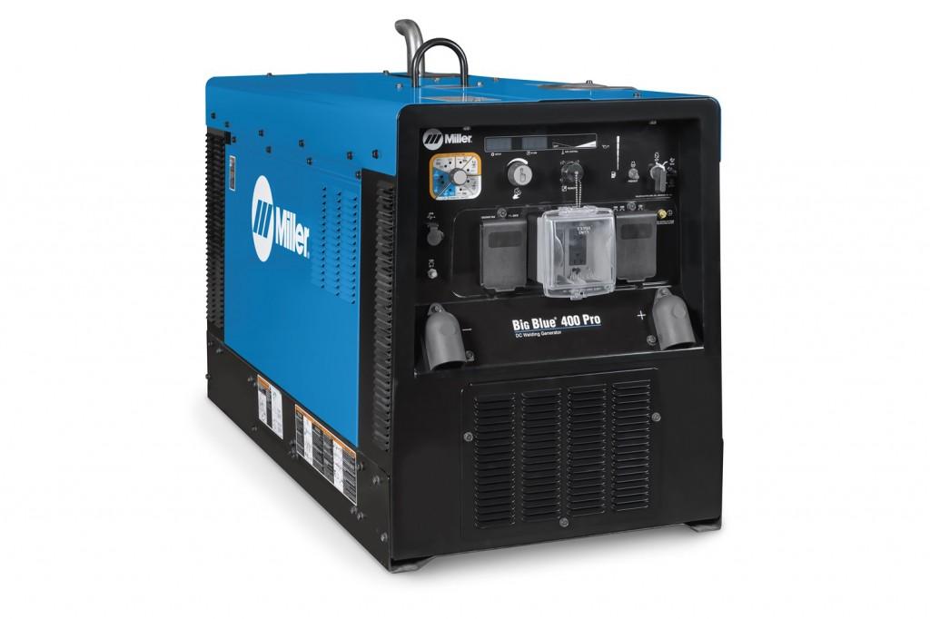 Miller Electric Mfg. LLC. - Big Blue 400 Pro Welding