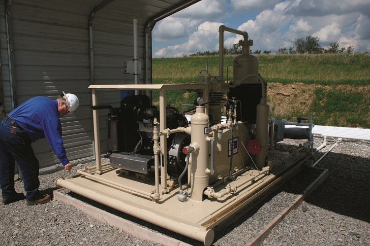 Ensuring effective vapour-recovery units in oilfield operations