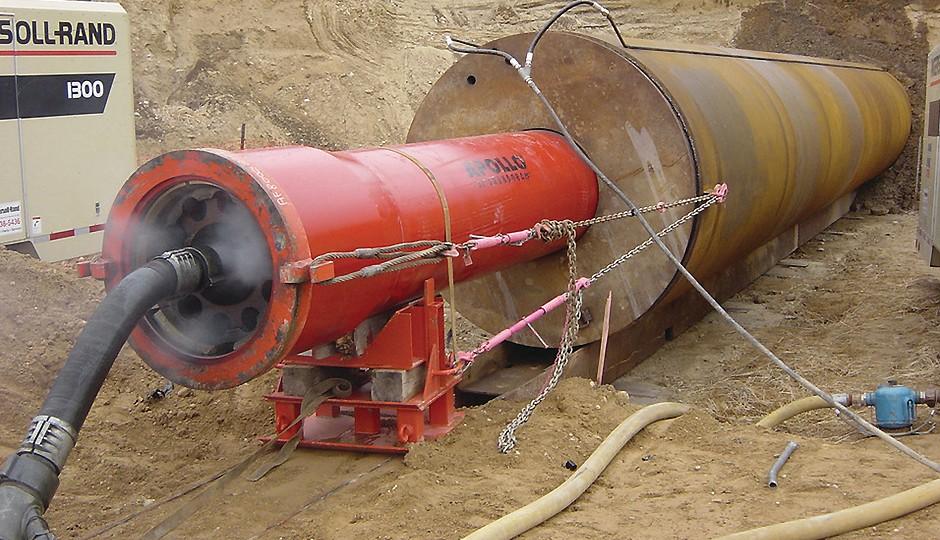 TT Technologies - GRUNDORAM Pipe Ramming