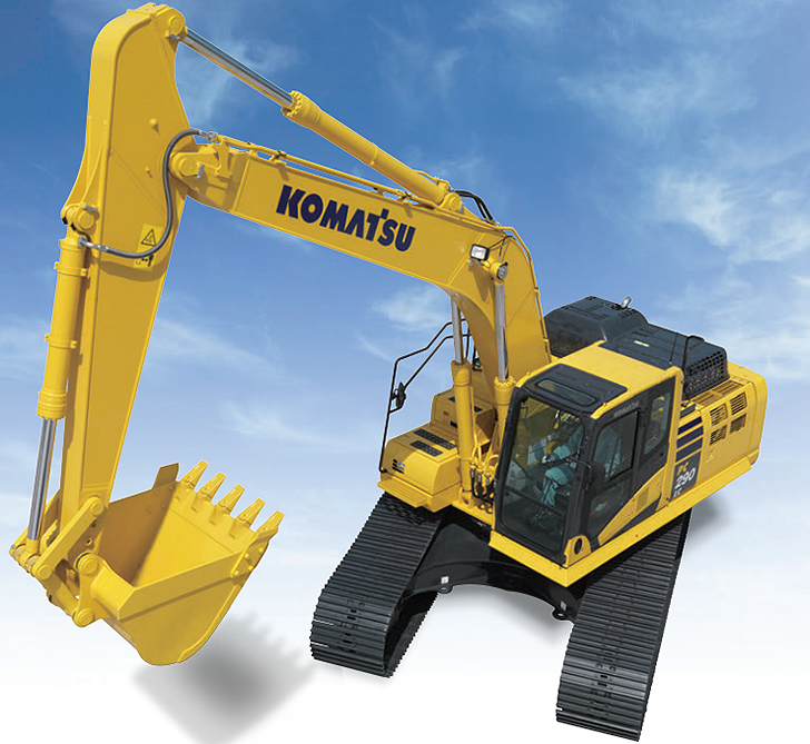 Komatsu America Corp. - PC290LC-11 Excavators