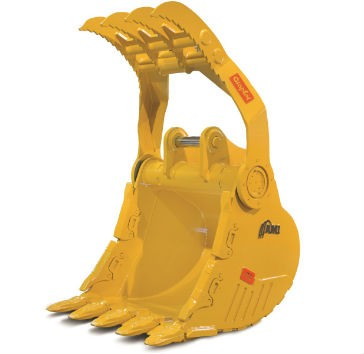 AMI Attachments Graptor – Integrated Thumb Bucket