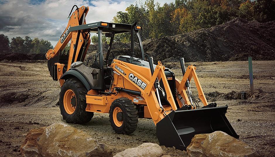 CASE Construction Equipment - 580N EP Backhoe Loaders