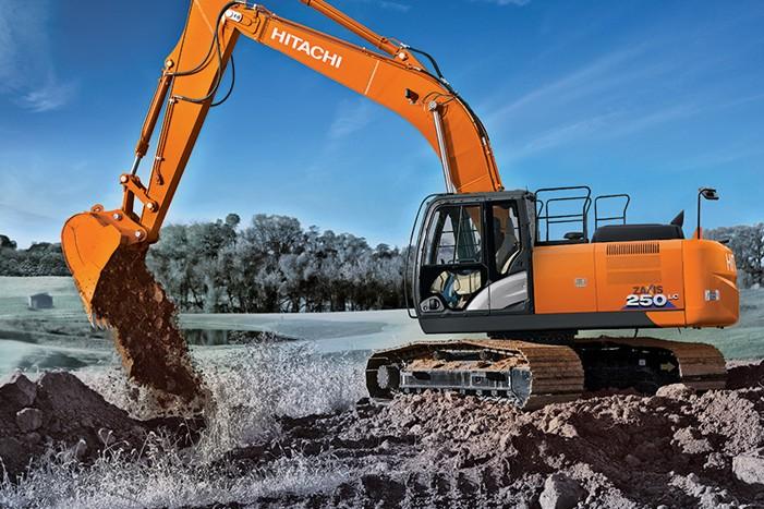 Hitachi Construction Machinery Corporation - ZX250LC-6 Excavators