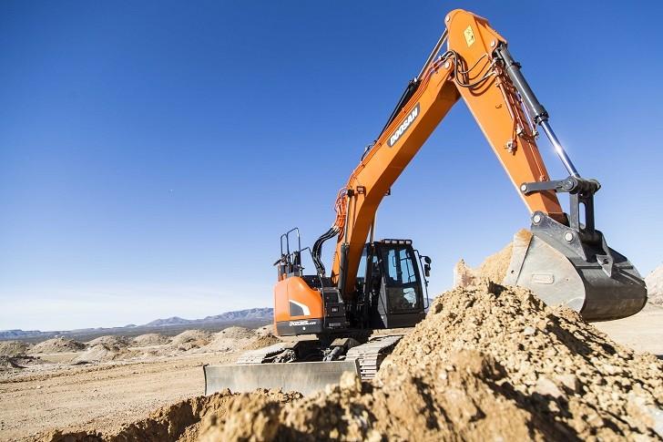 Doosan Introduces New DX225LC and DX235LCR Crawler Excavators