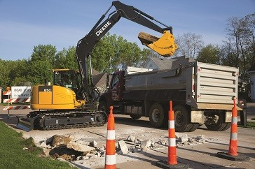 75G & 85G Reduced Tail-Swing Excavators