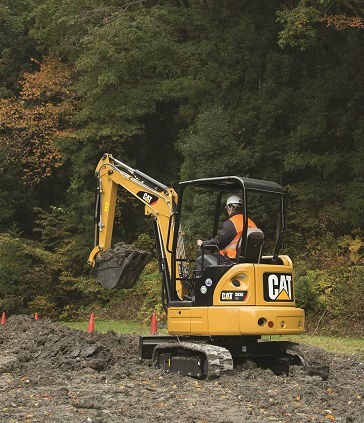 Cat 303E CR Mini Hydraulic Excavator