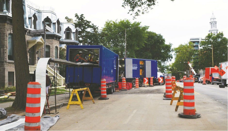 Inversion liner extends life of Quebec City watermain