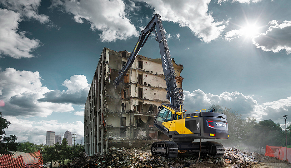 Volvo Construction Equipment - EC380EHR Excavators