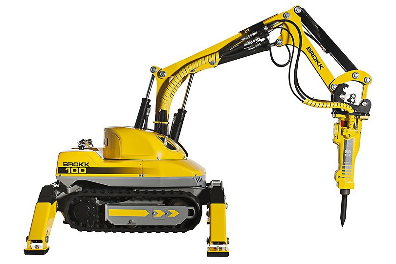 Brokk USA - Brokk 100 Demolition Robots