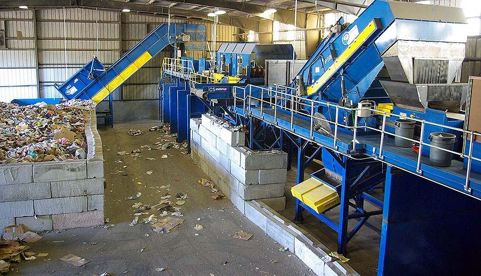 CP Group - McMRF Recycling Sorting Systems