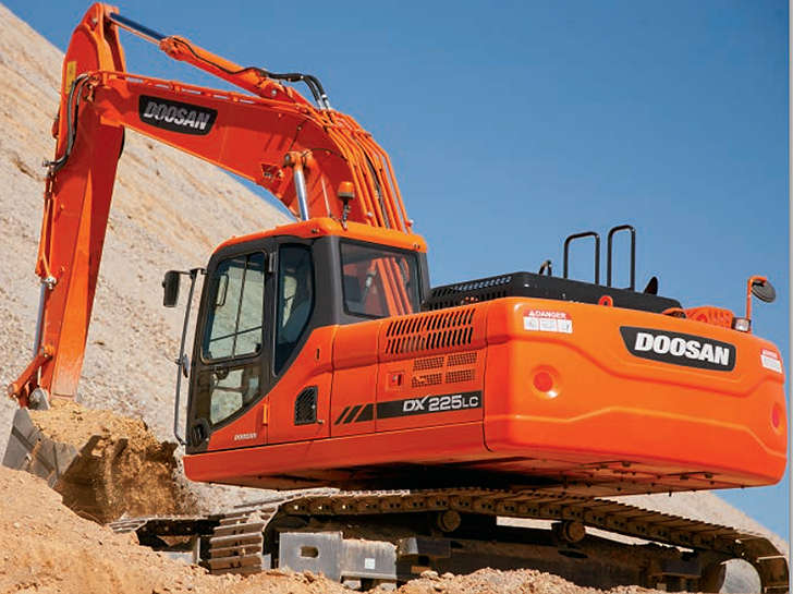 Doosan Infracore North America LLC - DX225MH-3 Material Handlers