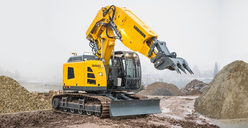 New Liebherr R 950 Tunnel Crawler Excavator for Tunnel Height of 5 to 8 Metres
