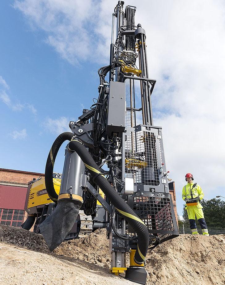 Atlas Copco - FlexiROC T30 R Drill Rigs