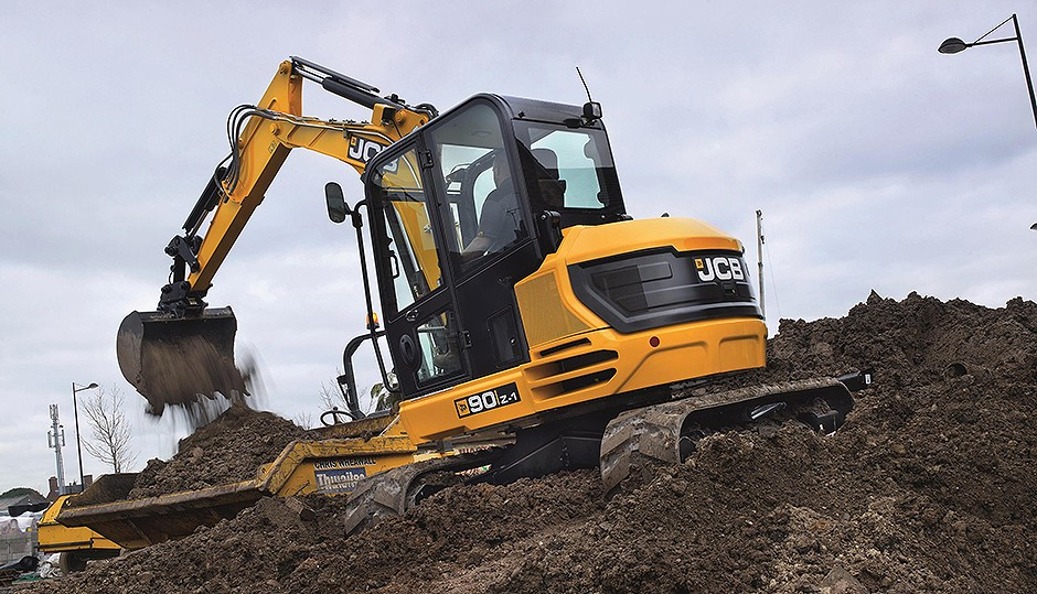 JCB - 90Z and 100c Excavators