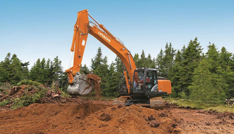 ZX210-6 excavator