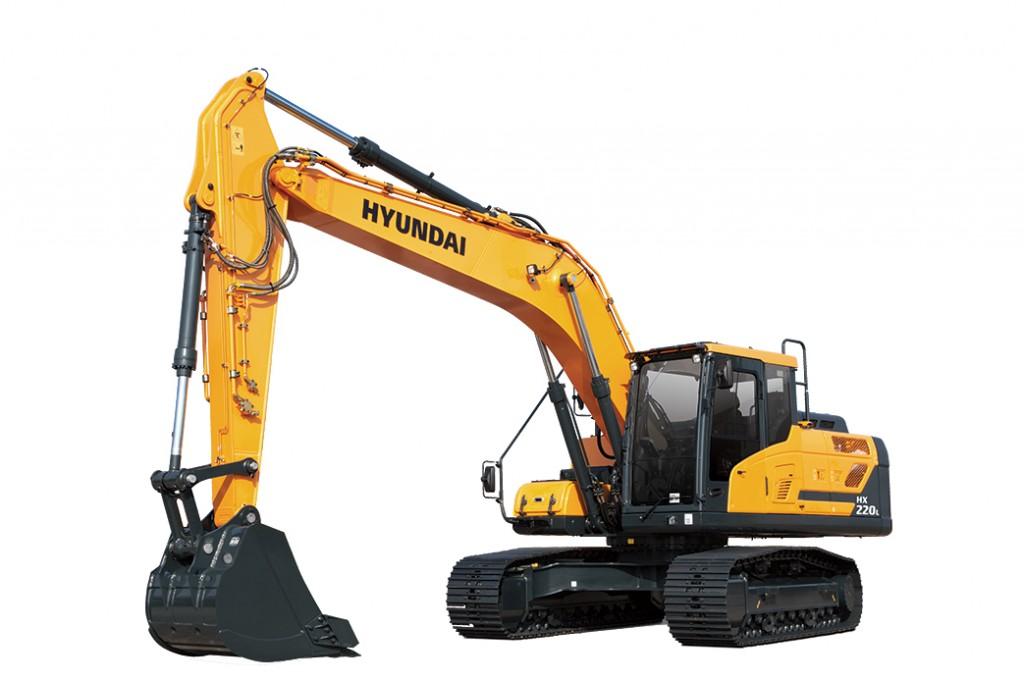 Hyundai Construction Equipment Americas Inc. - HX220L Excavators