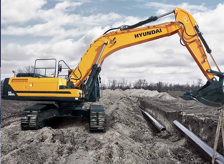 Hyundai Construction Equipment Americas Inc. - HX380L Excavators