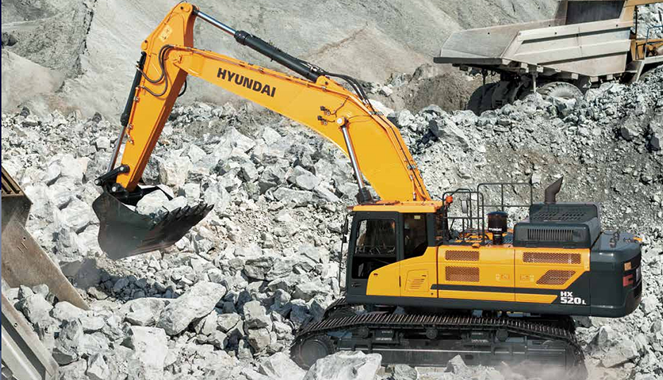 Hyundai Construction Equipment Americas Inc. - HX520L Excavators