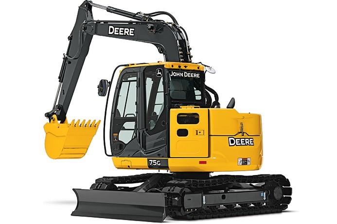 John Deere Construction & Forestry - 75G Excavators
