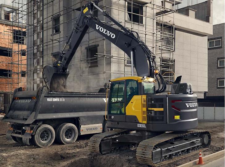 Volvo Construction Equipment - ECR235E Excavators