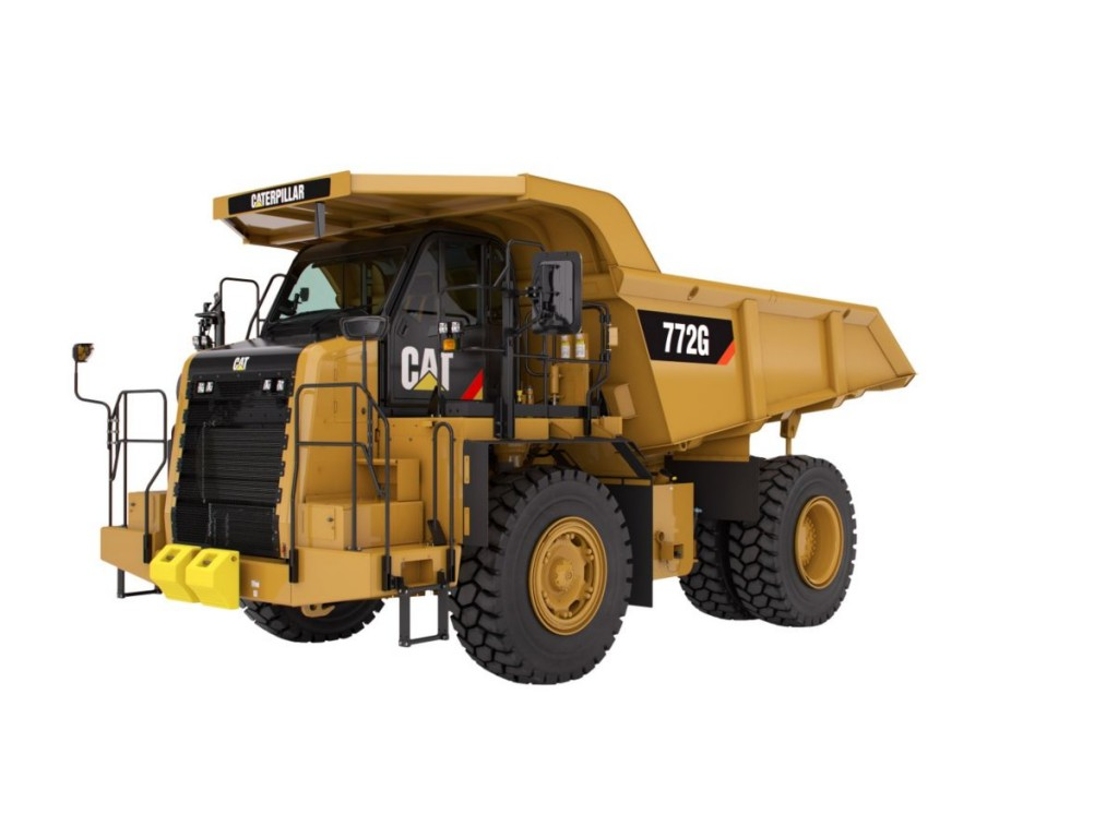 Caterpillar Inc. - 772G Vocational Trucks