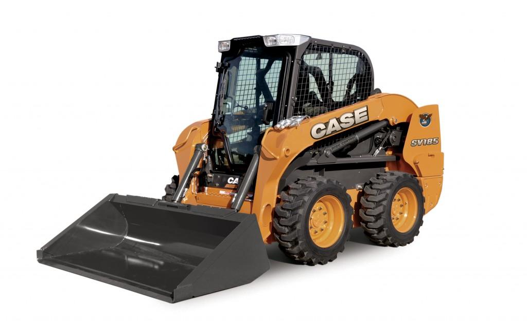 CASE Construction Equipment - SV185 Skid-Steer Loaders