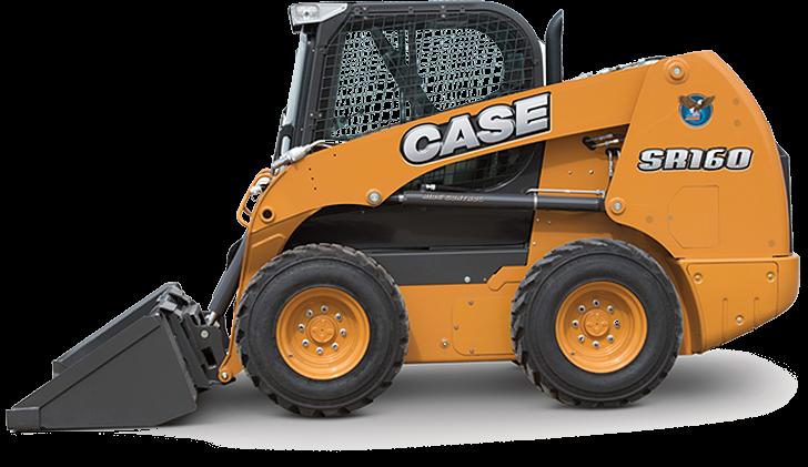 CASE Construction Equipment - SR160 Skid-Steer Loaders