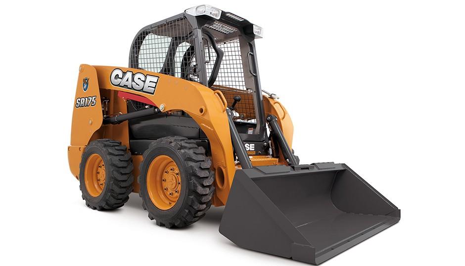 CASE Construction Equipment - SR175 Skid-Steer Loaders