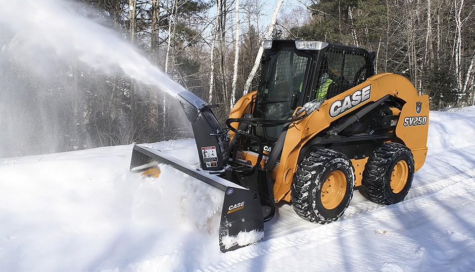 CASE Construction Equipment - SV250 Skid-Steer Loaders