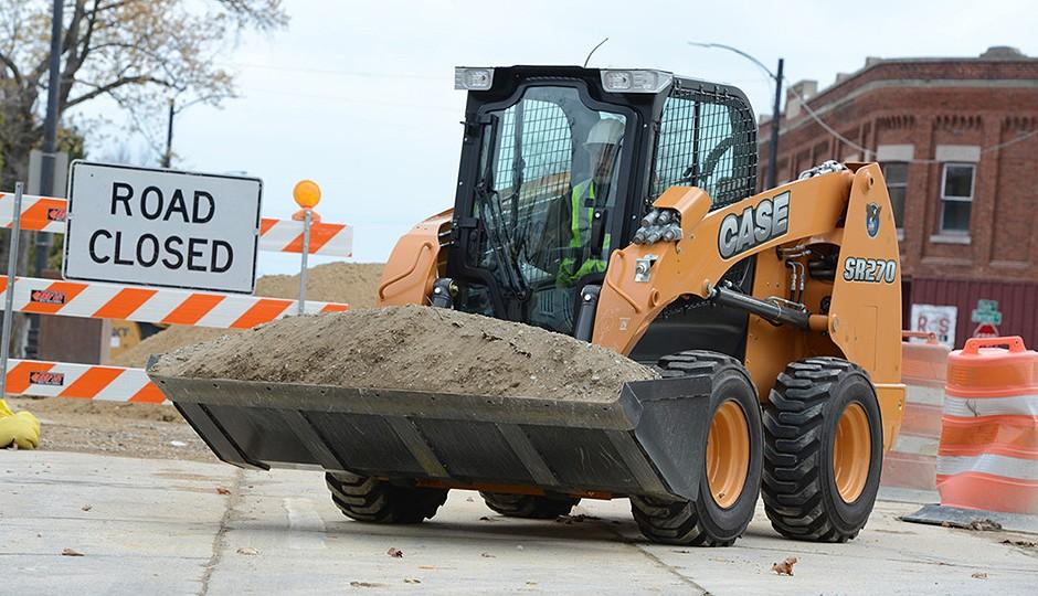 CASE Construction Equipment - SR270 Skid-Steer Loaders
