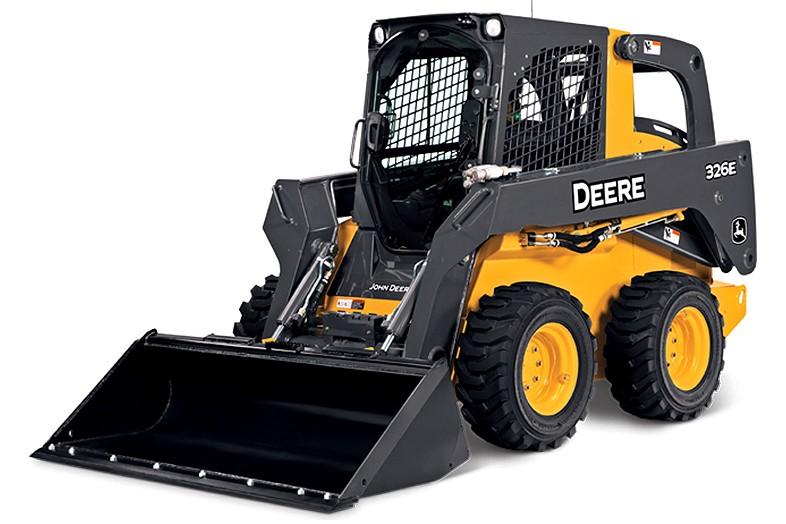 John Deere Construction & Forestry - 326E Skid-Steer Loaders