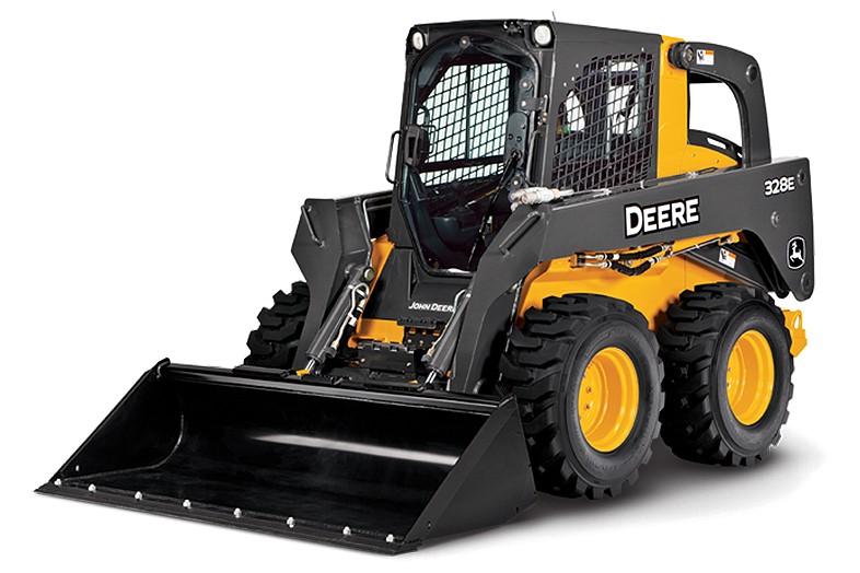 John Deere Construction & Forestry - 328E Skid-Steer Loaders