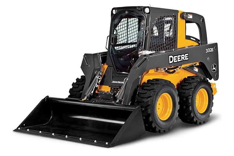 John Deere Construction & Forestry - 332E Skid-Steer Loaders